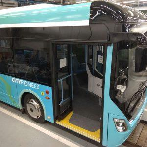 Elektromos busz ajtók