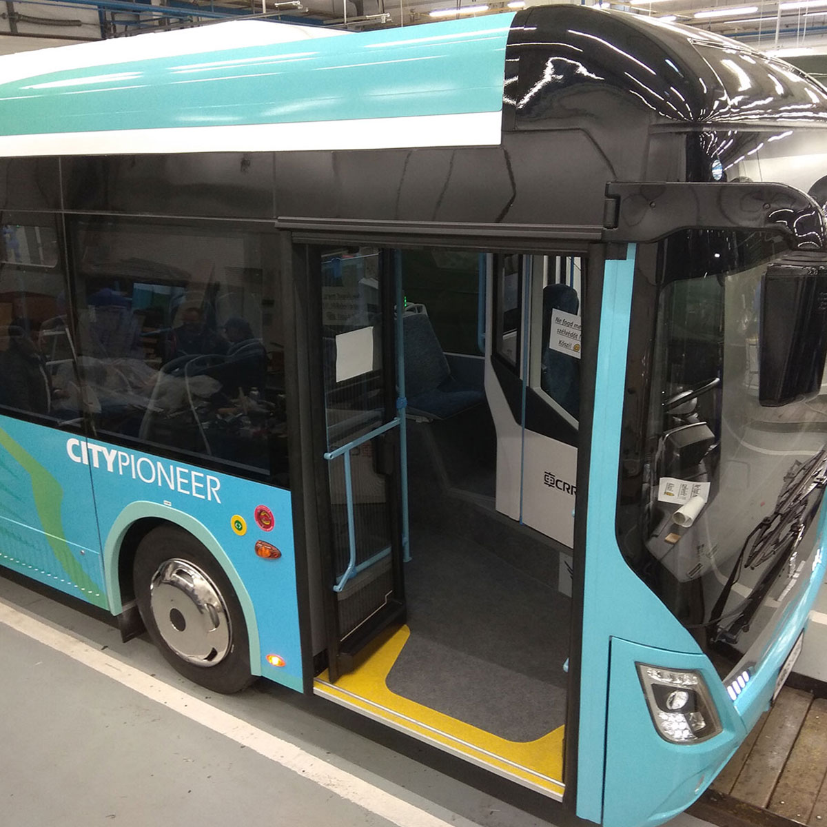 Doors for electric buses