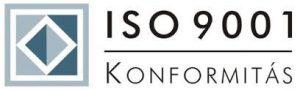 Konformitás ISO 9001